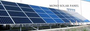 Banner of Mono Solar Panel