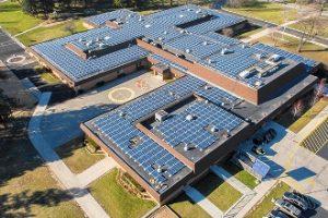 solar panels for school building