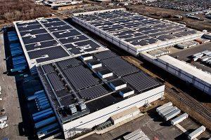 solar panels for warehouses